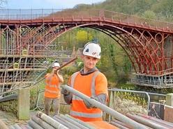 Businesses hopeful trade will pick up after Iron Bridge restoration