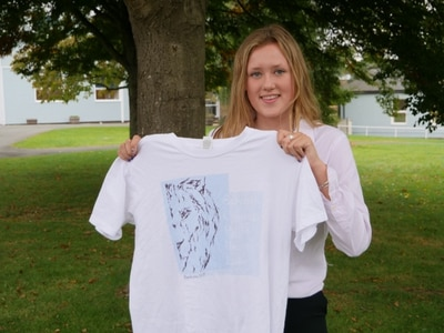 Sixth former uses her veritable art skills to raise money for hospital