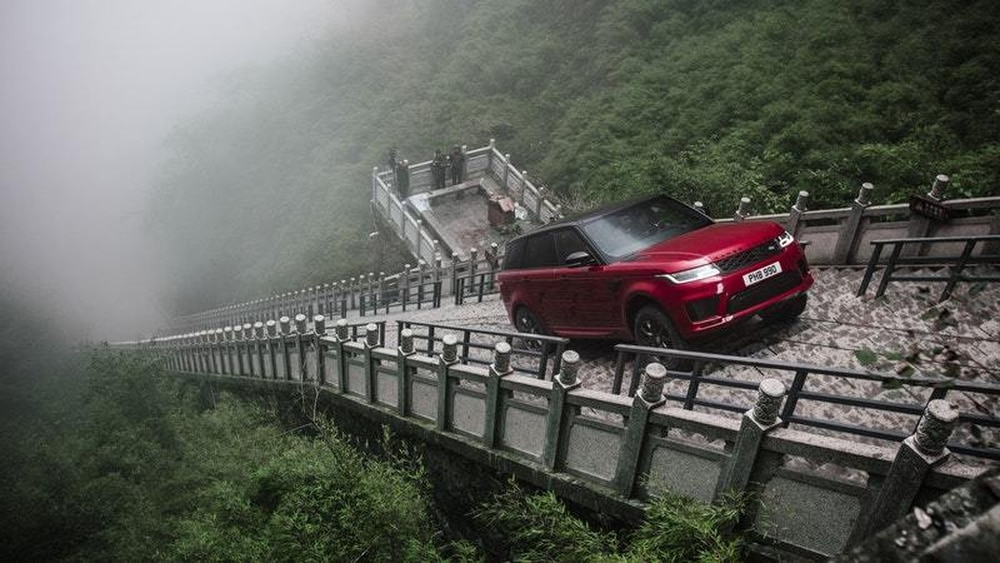 Range Rover PHEV makes heavenly ascent
