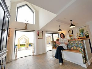 Camilla Monk has been recognised for her work as an architect on her family home in Myddle.