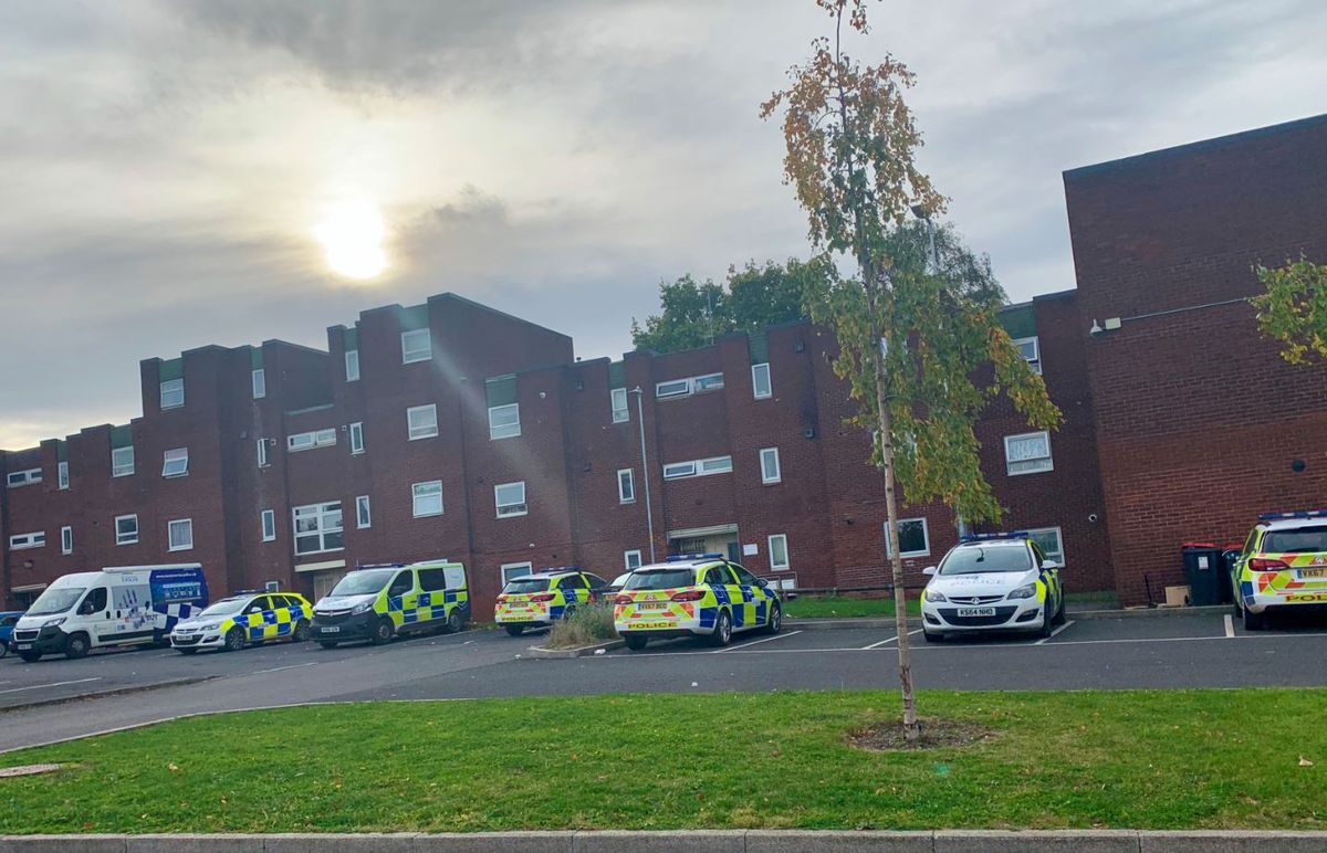 The latest figures from West Mercia Police show there were 366 crimes reported within a one-mile radius of Brookside in August this year
