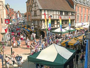 The Oswestry Food Festival. Pic by: Laura Dutfield