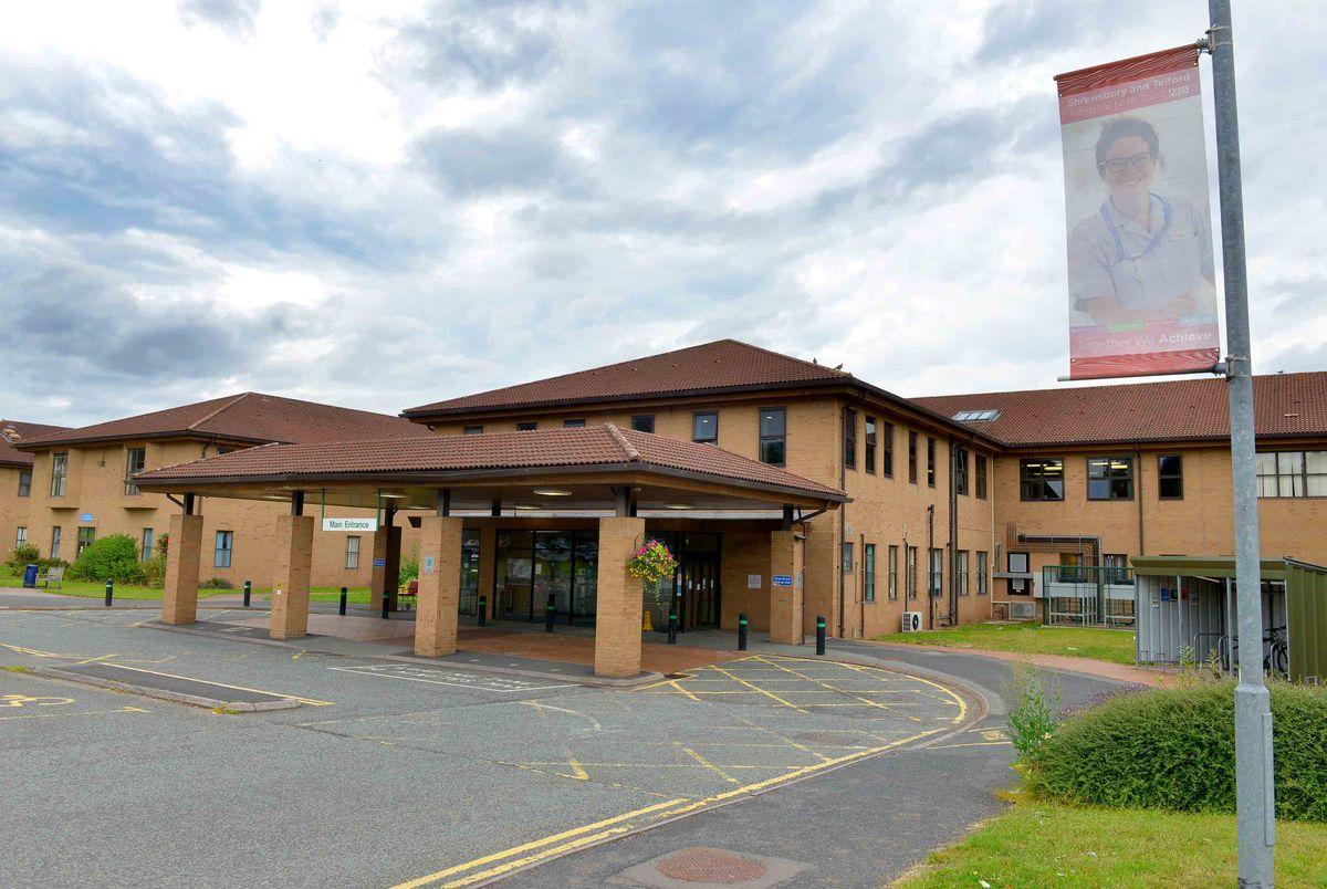 Princess Royal Hospital, Telford.