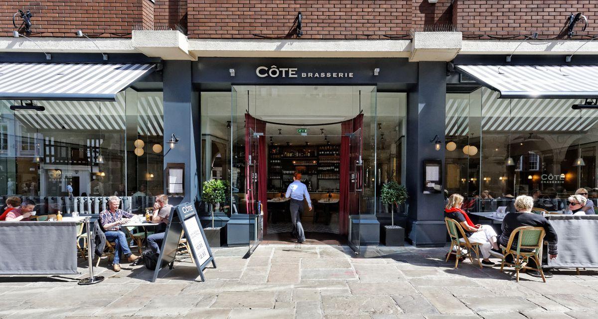 Cote Brasserie opened in Shrewsbury recently