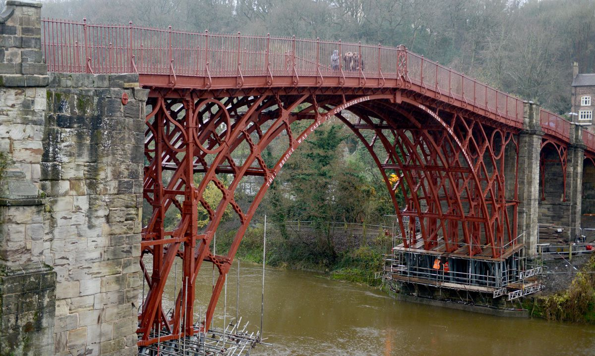 The last of the work on the base of the bridge is set to finish in the new year