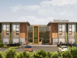 An image of how the hotel could look