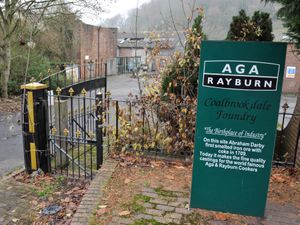 LAST   ALAN FOGARASY COPYRIGHT EXPRESS & STAR  23/11/18.The former AGA Rayburn Coalbrookdale Foundry which closed around 1 year ago..