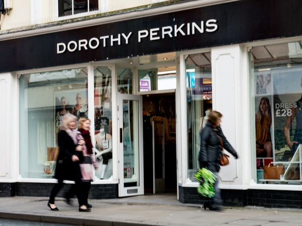 Eight jobs under threat as Dorothy Perkins store at risk of closure