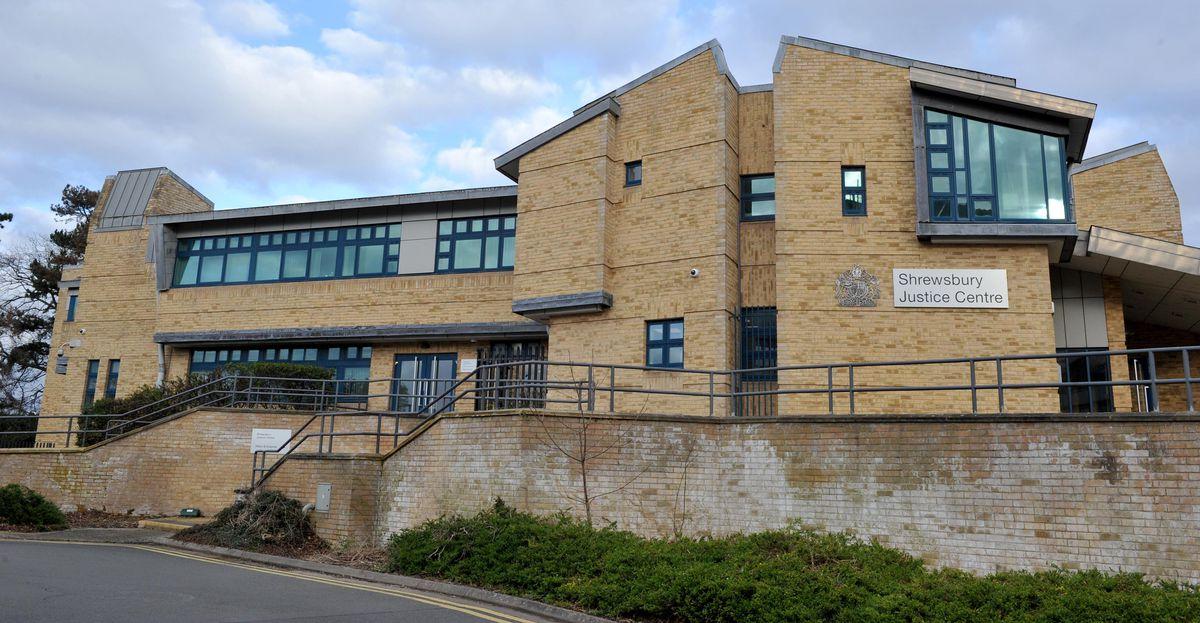 Shrewsbury Crown Court, where Tavien Dolphin was sentenced