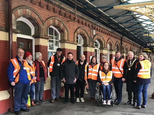 The Friends of Wellington station