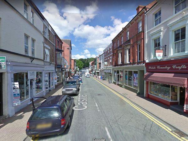 Castle Street in Llangollen. Photo: Google
