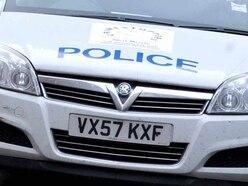 Lorry and car crash at Shrewsbury roundabout
