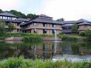 Councillors are unlikely to be meeting in Powys County Council's chamber until next year