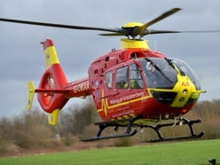 Air ambulance called to Church Stretton incident
