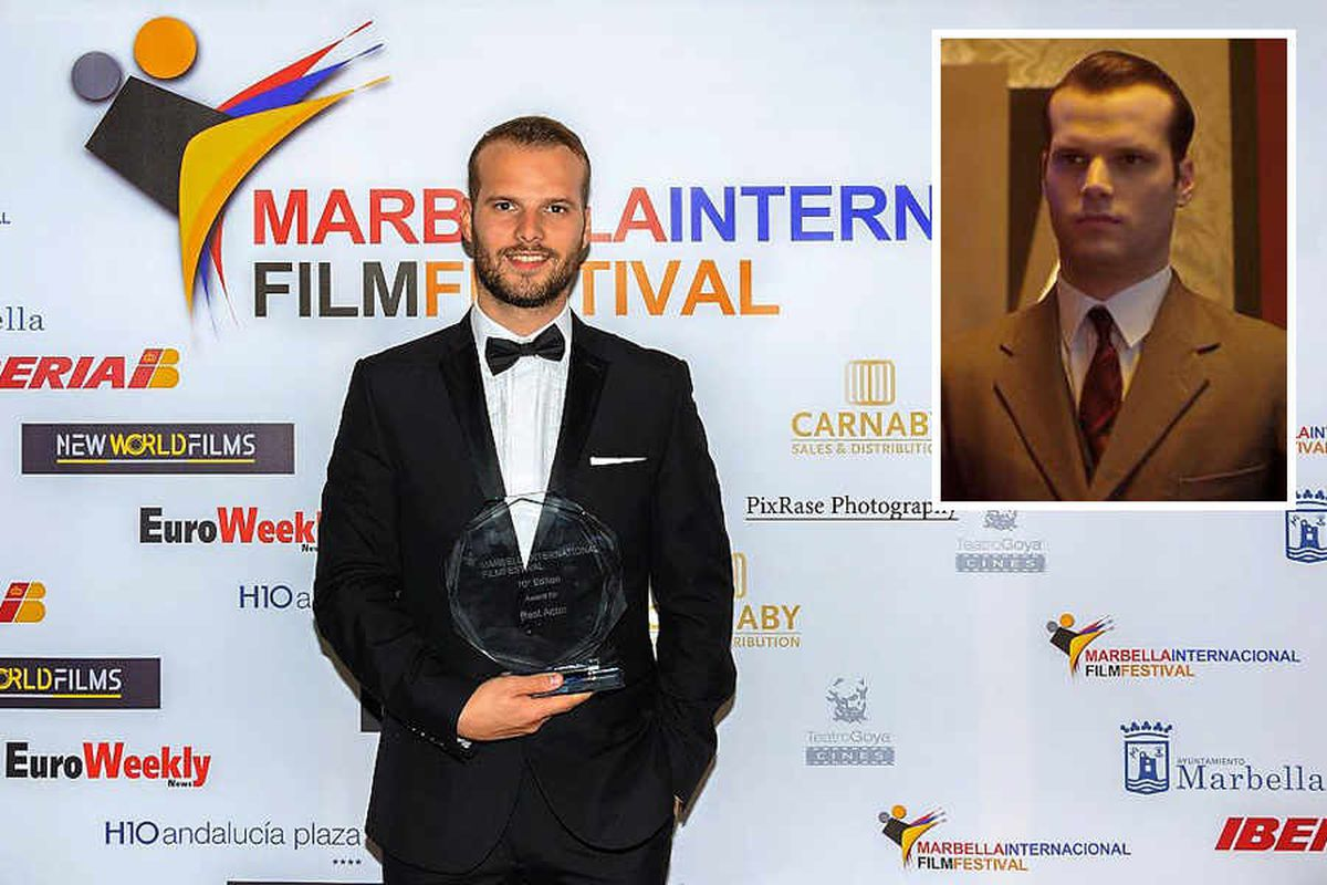 Shropshire-born actor given a taste of awards glory for Krays film