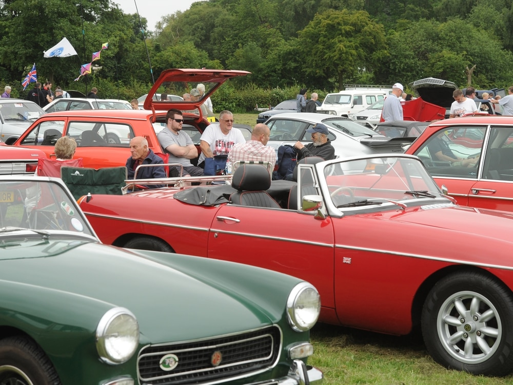 Classic motor show coming to Weston Park