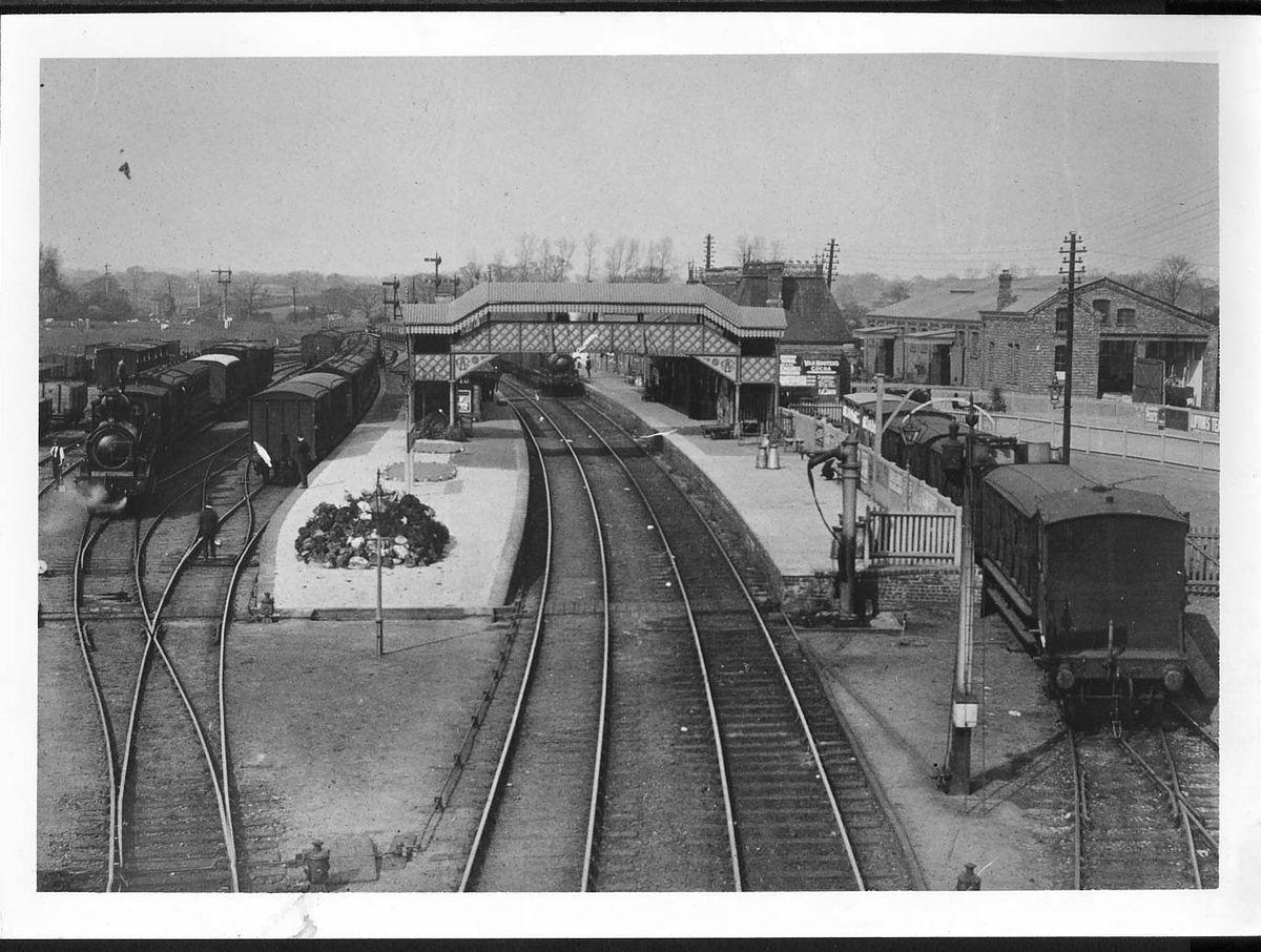 Former Market Drayton Train Station