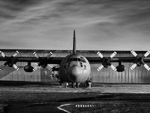Lockheed Hercules C130K. Picture - Threshold Aero