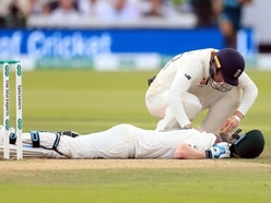 Smith shaken by brutal battle with Archer as second Test heads for tense finish