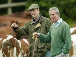 William shares farming 'passion': My children are already playing on tractors