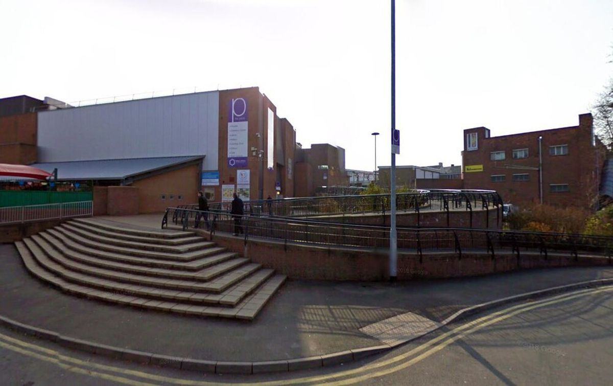 Theatre Square, Oakengates. Photo: Google StreetView.