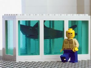 Damien Hirst's Shark Tank by The Little Artists