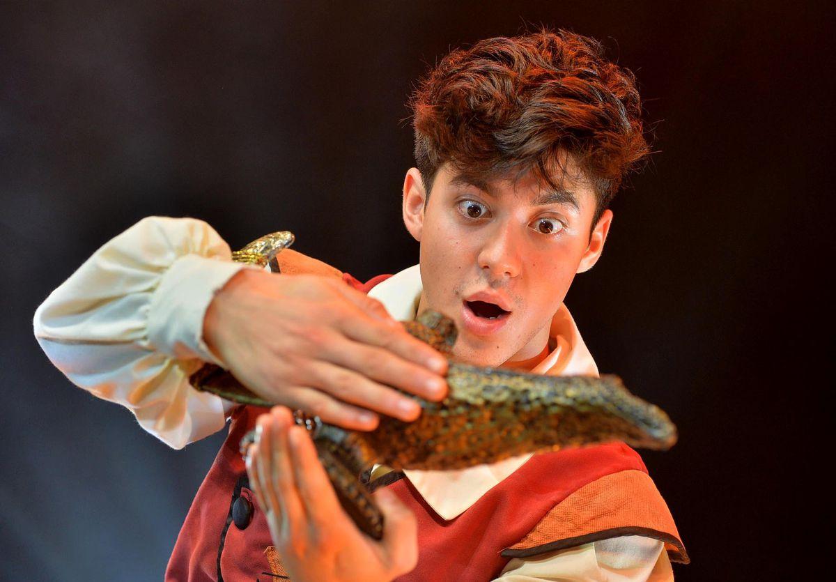 Sario Solomon, winner of the BBC's Let It Shine, is Aladdin