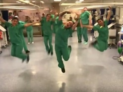 WATCH: Shropshire NHS superheroes help spirits soar with dance routines