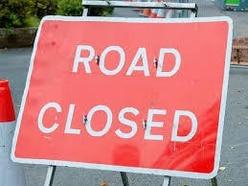 Storm Dennis: Landslide blocks road near Bridgnorth