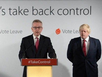 People are flipping a famous Vote Leave catchphrase following the Government's Brexit Bill defeat
