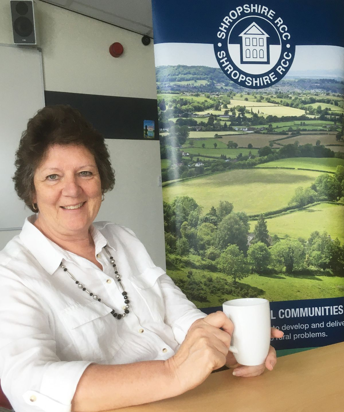 Chief executive of Shropshire Rural Communities Charity Julia Baron