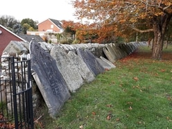 Graveyard wall at church near Telford 'could fall' under the weight of headstones