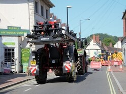 Burst water pipe causes Bridgnorth mayhem