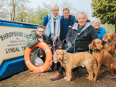 Shropshire canal cruise charity on crest of a wave after £2,500 donation