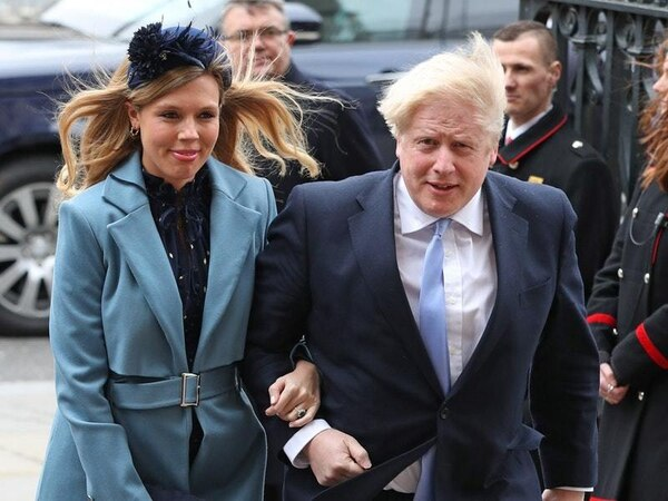 Carrie Symonds 'on the mend' after suffering Covid-19 symptoms