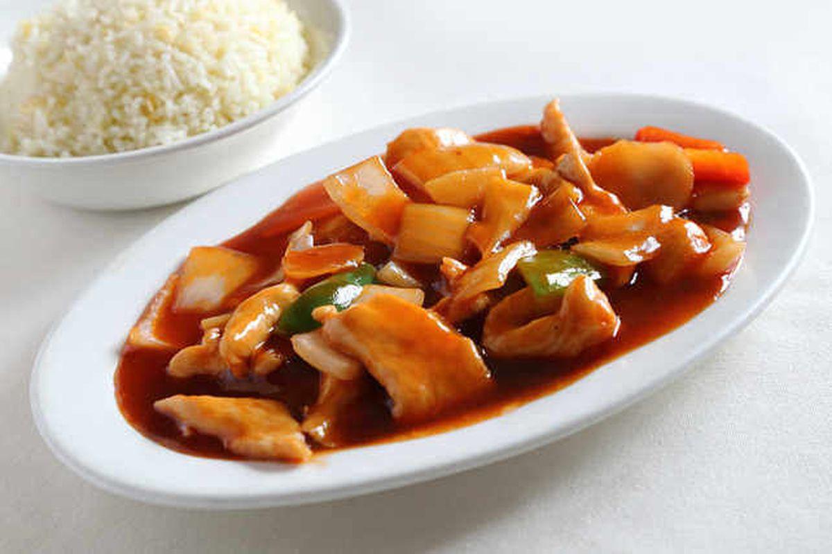 Sweet stuff – mandarin chicken