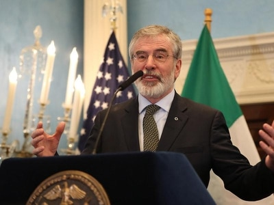 New York mayor proclaims 'Gerry Adams Day' in honour of ex-Sinn Fein chief