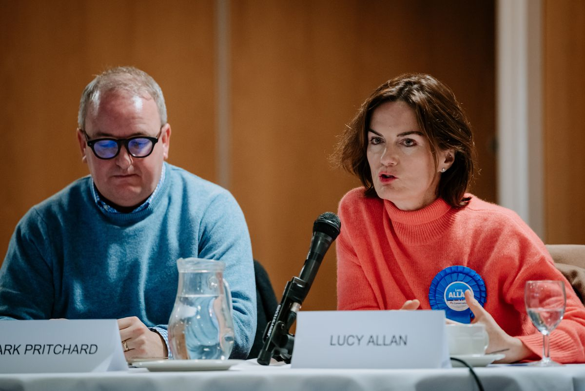 Mark Pritchard and Lucy Allan from the Conservative