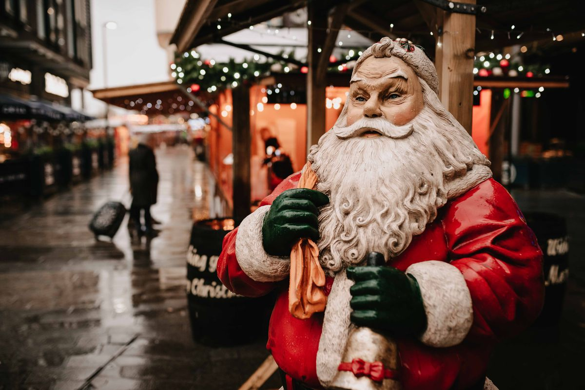 Telford Christmas Market has been cancelled