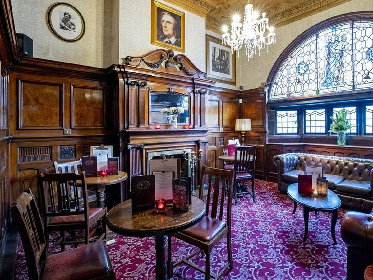 The interior of the Philharmonic Dining Rooms pub in Hope Street, Liverpool (Peter Byrne/PA)