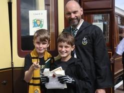 Wizard Express steams into Severn Valley Railway