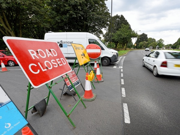 Two-week road closure for sewer pipe work