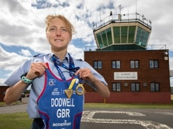Telford's Hannah is flying high after becoming a double European champion