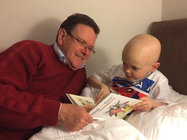 Shropshire grandfather's race against time to raise £500,000 for youngster's treatment