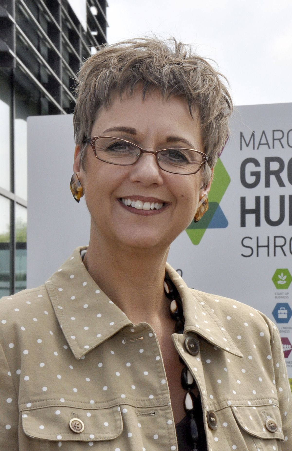Marches Growth Hub manager Emma Chapman