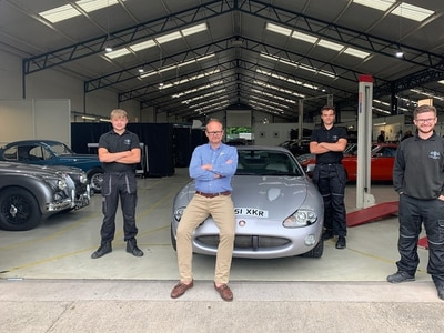 Jaguar purrs again as Shropshire businesses support each other out of lockdown