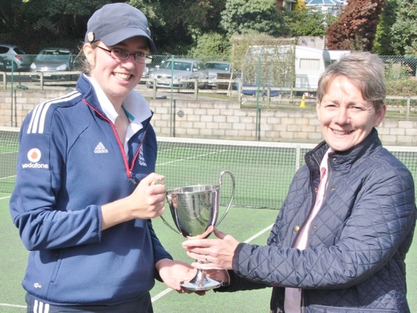 Silverware dished out at Hollies Tennis Club