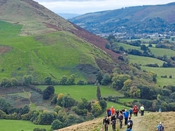 Hundreds turn out for 50th anniversary of Longmynd Hike