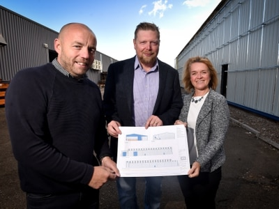 Oswestry manufacturer expands and creates five jobs after landing £97k grant