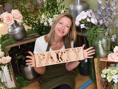 Shropshire firm opens flower bar